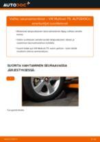Kuinka vaihtaa iskunvaimentimet taakse VW Multivan T5-autoon – vaihto-ohje
