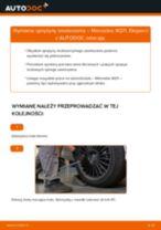 Jak wymienić sprężyny zawieszenia tył w Mercedes W211 - poradnik naprawy