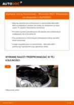 Jak wymienić tarcze hamulcowe tył w Mercedes W211 - poradnik naprawy
