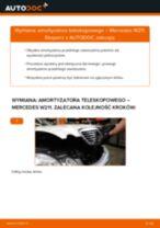 Jak wymienić amortyzator teleskopowy przód w Mercedes W211 - poradnik naprawy
