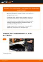 Jak wymienić filtr kabinowy w Mercedes W211 - poradnik naprawy