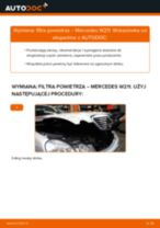 Jak wymienić filtr powietrza w Mercedes W211 - poradnik naprawy