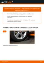 Výmena Tlmič pruzenia VW MULTIVAN: dielenská príručka