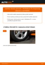 Vyměnit Tlumic perovani VW MULTIVAN: dílenská příručka
