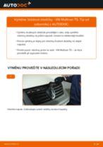 Výměna Brzdové Destičky na VW MULTIVAN V (7HM, 7HN, 7HF, 7EF, 7EM, 7EN) - tipy a triky