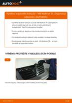 Podrobné PDF tutoriály, jak vyměnit Stabilizator na autě Golf 4