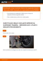 Como substituir Kit rolamento roda traseira e dianteira MERCEDES-BENZ SPRINTER 4-t Box (904) - manual online