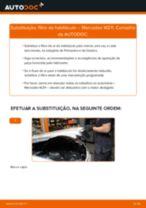 Recomendações do mecânico de automóveis sobre a substituição de MERCEDES-BENZ Mercedes W210 E 220 CDI 2.2 (210.006) Filtro do Habitáculo