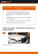 VW VENTO hátsó bal Fékcsövek cseréje: kézikönyv pdf