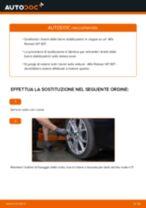 Come cambiare biellette barra stabilizzatrice della parte anteriore su Alfa Romeo 147 937 - Guida alla sostituzione