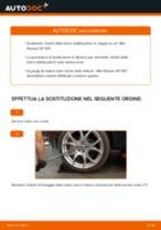 Come cambiare biellette barra stabilizzatrice della parte posteriore su Alfa Romeo 147 937 - Guida alla sostituzione