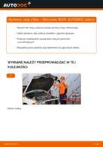 Jak wymienić oleju silnikowego i filtra w Mercedes W201 - poradnik naprawy