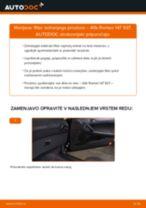 Kako zamenjati avtodel filter notranjega prostora na avtu Alfa Romeo 147 937 – vodnik menjave