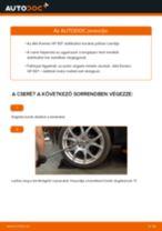 Mazda 323 F bj 2000 hibaelhárítási szerelési kézikönyv