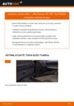 Žingsnis po žingsnio pakeiskite Toyota Prado J120 V formos rumbuotas diržas PDF vadovas