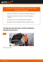 Ölfilter auswechseln MERCEDES-BENZ 190: Werkstatthandbuch