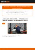 Reparatur- und Servicehandbuch für MERCEDES-BENZ 190