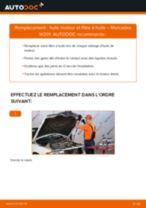 Comment changer : huile moteur et filtre huile sur Mercedes W201 - Guide de remplacement