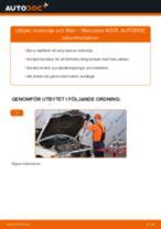 MERCEDES-BENZ 190 reparations- och underhåll handledning