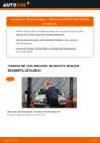Schritt-für-Schritt-Anweisung zur Reparatur für MERCEDES-BENZ 190