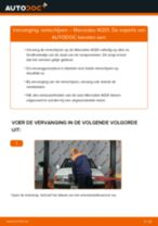 PDF handleiding voor vervanging: Schijfremmen MERCEDES-BENZ 190 (W201) achter en vóór
