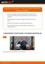 Veiledning på nettet for å skifte Bremseskiver i MERCEDES-BENZ 190 (W201) selv