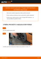 Jak vyměnit zadní tlumiče pérování na Peugeot 207 hatchback – návod k výměně