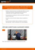 Manual de serviço MERCEDES-BENZ 190