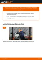 Nomaiņai Bremžu suports MERCEDES-BENZ Mercedes W201 E 1.8 (201.018) - remonta instrukcijas