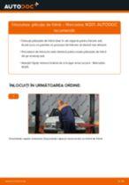 Montare Placute Frana MERCEDES-BENZ 190 (W201) - tutoriale pas cu pas
