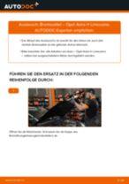 Wie Opel Astra H Limousine Bremssattel vorne wechseln - Anleitung