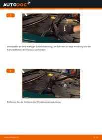 Wie der Wechsel durchführt wird: Innenraumfilter 1.9 TDI Passat B5 tauschen