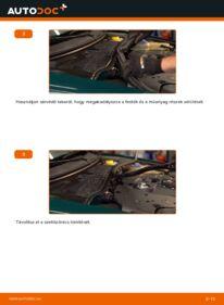 Hogyan végezze a cserét: VW PASSAT Utastér levegő szűrő