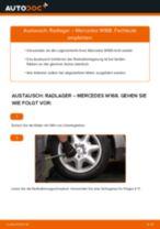 Schritt-für-Schritt-PDF-Tutorial zum ABS Sensor-Austausch beim Mercedes GLS X166