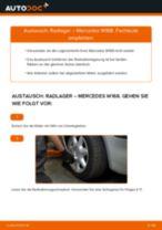 Opel Omega B Limousine Lagerung Radlagergehäuse: Online-Handbuch zum Selbstwechsel