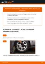 Auswechseln Scheinwerferlampe MERCEDES-BENZ A-CLASS: PDF kostenlos