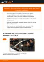 Wie Bremsscheibe MERCEDES-BENZ A-CLASS tauschen und einstellen: PDF-Tutorial