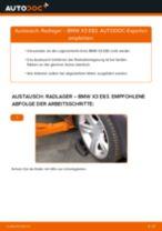 Installation von Radlagersatz BMW X3 (E83) - Schritt für Schritt Handbuch