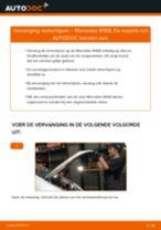 PDF handleiding voor vervanging: Schijfremmen MERCEDES-BENZ A-Klasse (W168) achter en vóór