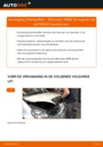 PDF handleiding voor vervanging: Pollenfilter MERCEDES-BENZ A-Klasse (W168)