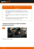 Domlager hinten selber wechseln: BMW X3 E83 - Austauschanleitung