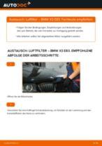 Luftfilter selber wechseln: BMW X3 E83 - Austauschanleitung