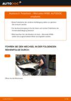 MERCEDES-BENZ Stoßdämpfer Satz Gasdruck selber wechseln - Online-Anweisung PDF