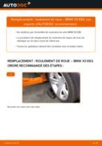 Changer Kit de roulement de roue arrière et avant BMW à domicile - manuel pdf en ligne