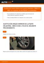 Cómo cambiar: brazo inferior de la parte delantera - BMW X3 E83 | Guía de sustitución