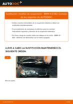 Cómo cambiar: muelles de suspensión de la parte delantera - BMW X3 E83 | Guía de sustitución