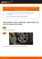 BMW X3 service manuals