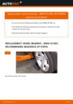 Auto mechanic's recommendations on replacing BMW BMW X3 E83 3.0 d Strut Mount