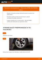 Samodzielna wymiana Amortyzatory tylne i przednie MERCEDES-BENZ - online instrukcje pdf