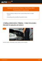 Jak vyměnit přední a zadní Brzdové třmeny FORD udělej si sám - online návody pdf